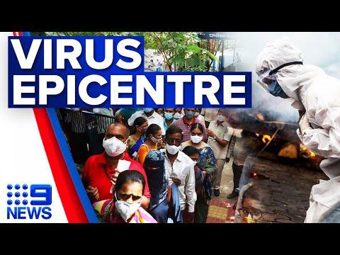 Delta strain throws Indonesia into major crisis   Coronavirus   9 News Australia