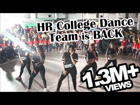 OMG!! Best College Street Dance till date - HR College