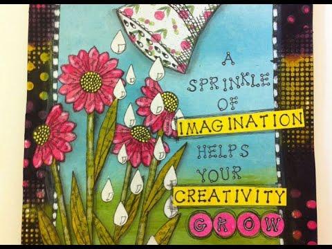 Art Journalling - Bloom and Grow
