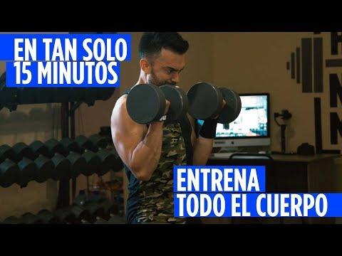 RUTINA DE EJERCICIOS EN CASA PARA TODO EL CUERPO EN TAN SOLO 15 MINUTOS PARA HOMBRES Y MUJERES (#5)
