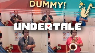 "Dummy (From ""Undertale"") Saxophone Jazz Game Cover"