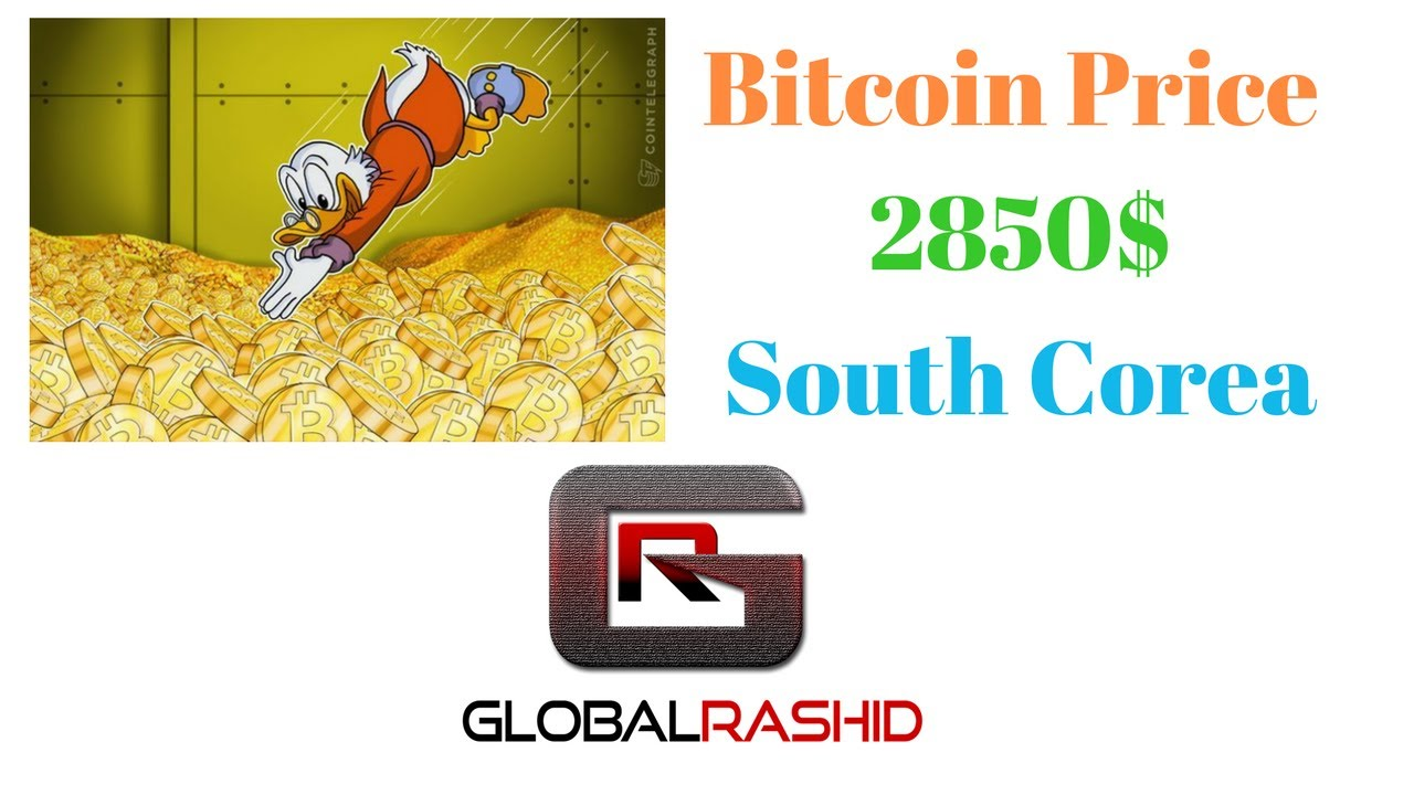 Why South Korean Bitcoin Price Is $1000 Over Global Price