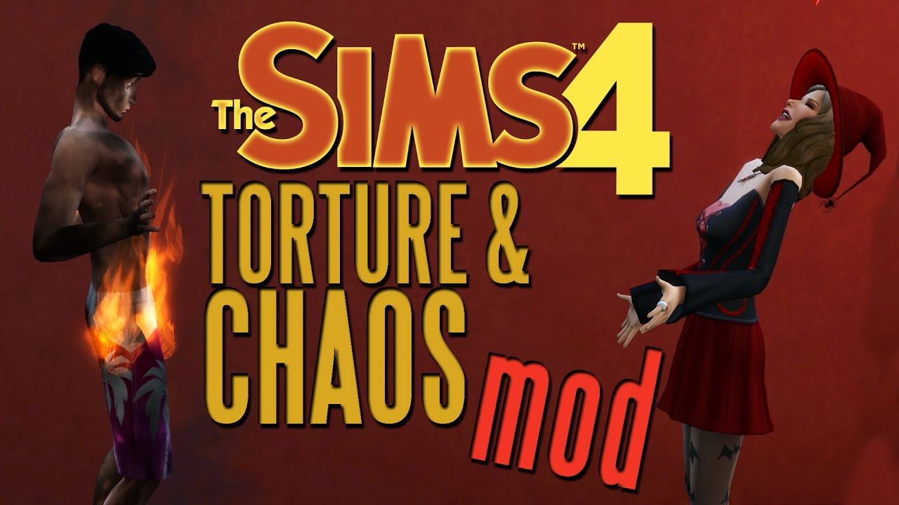The Sims 4 Torture Chaos Mod Yay Death The Sims 4 Mods Youtube
