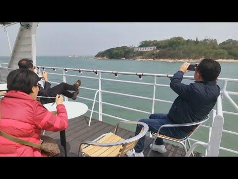 渡輪偽出國 金門「初日號」海上看大膽島 - 金門旅遊 - 新唐人亞太電視台