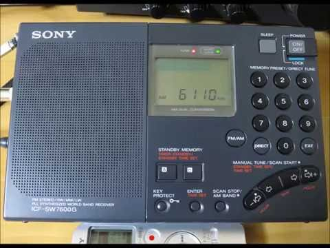Probably Radio Fana on 6110kHz (audio only)