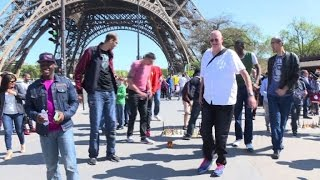 Seeing Paris Sights At New Heights With World S Tallest Men