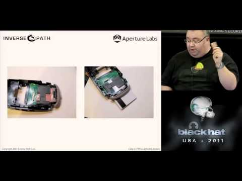 BlackHat 2011, Chip & PIN is definitely broken: Credit Card Skimming and PIN Harvesting in an AMV...