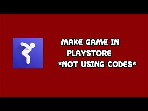 HOW TO MAKE A GAME IN PLAYSTORE! (NOT USING CODES) || OCTOBER 2018
