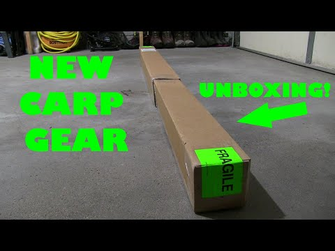 Unboxing NEW Carp Fishing Gear From Big Carp Tackle!