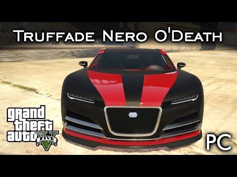 Truffade Nero O'Death 💀 - Bugatti Chiron MATADOR!   GTA V - PC [PT-BR]