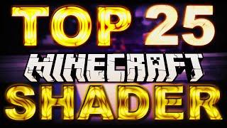 Top 25 Minecraft Shader Packs 1.8 / 1.8.3 für schlechte PCs DOWNLOAD  German Shader Mod Installieren