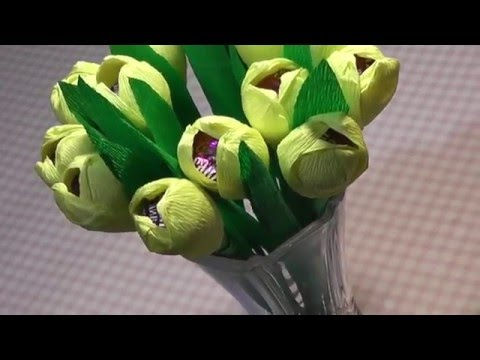 Цветы и подарки из конфет Записи в рубрике Цветы и