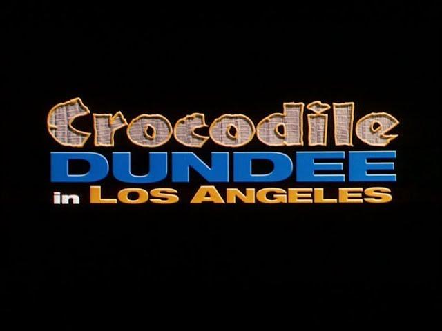 Crocodile Dundee In Los Angeles 2001 Deutscher Trailer Youtube