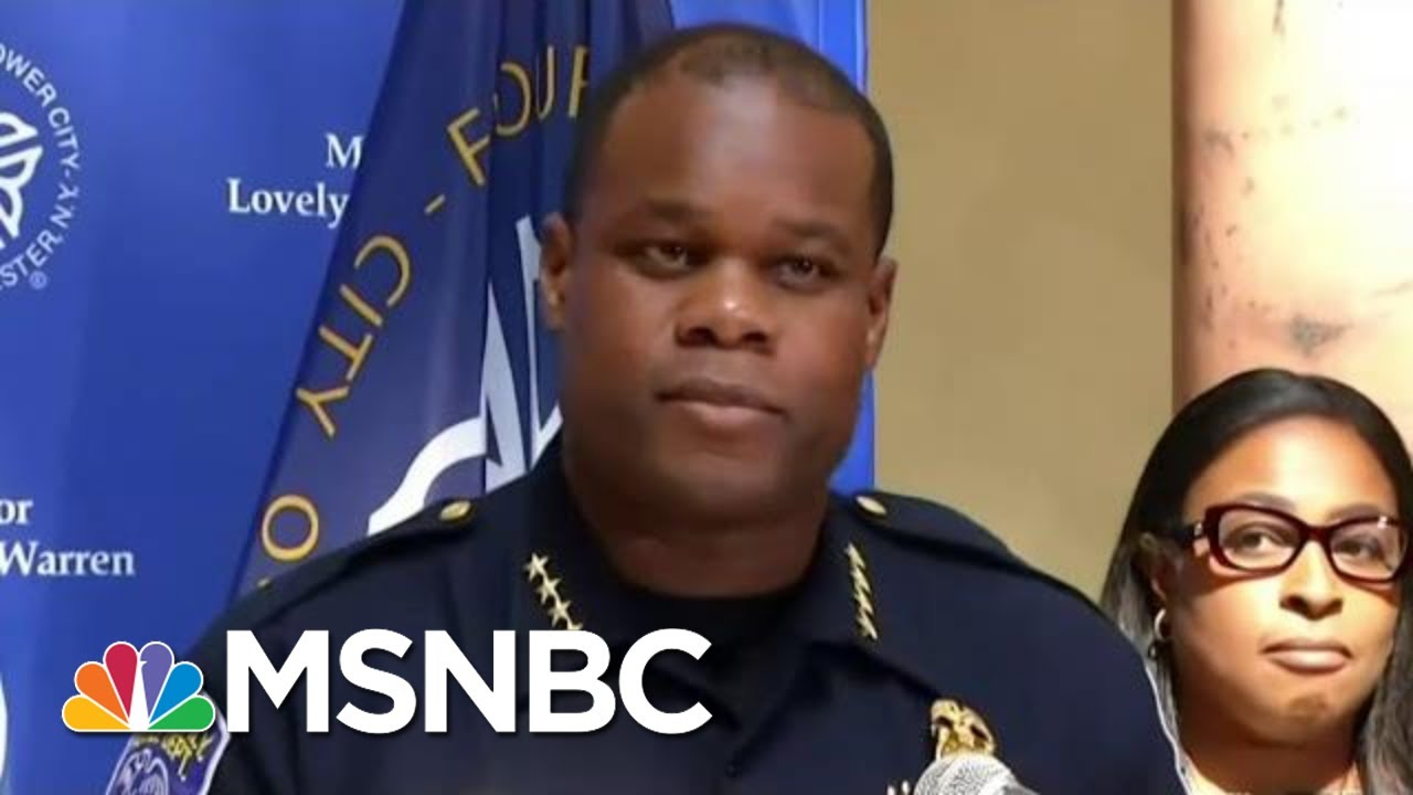 Trump's Police Defense Falters As Videos Shred Misleading Arrest Reports | MSNBC