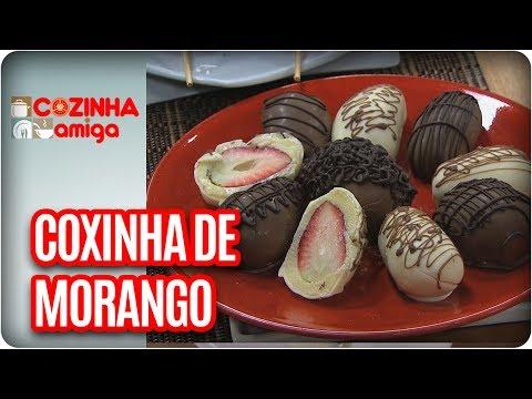 Coxinha De Morango E Frutas Escondidas -  Chef Dalva Zanforlin   Cozinha Amiga (20/07/17)