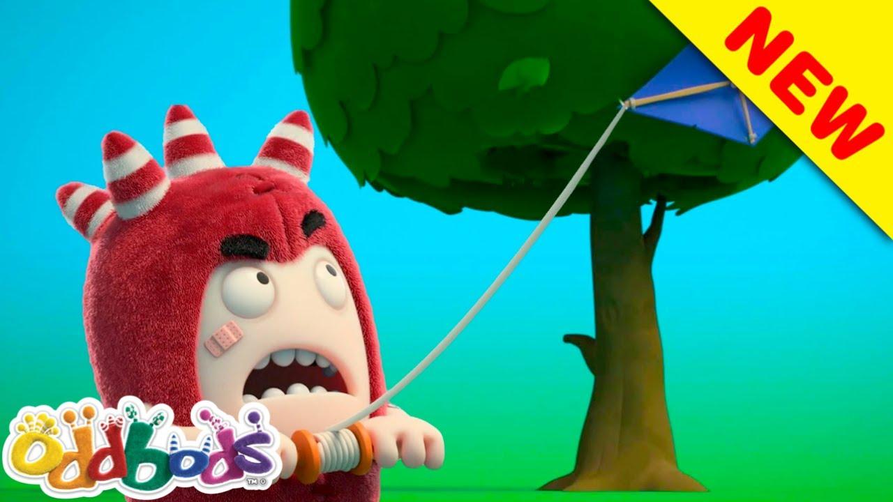 Oddbod'lar Sonbaharın Soğuk Rüzgarlarına Kapılıyorlar | Oddbods | YENİ | Çocuklar için Çizgi Filmler