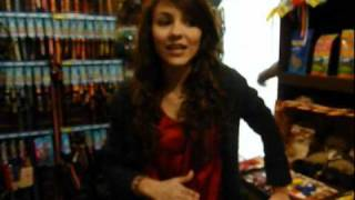 J-14 Exclusive: Victoria Justice Shopping at the Dog Store
