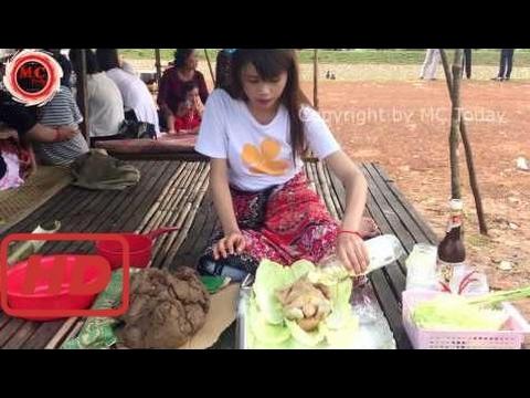 Dorf Essen Fabrik - Land Essen In Meinem Dorf - Traditionelle Lebensmittel In Kambodscha # 1