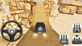 Mountain Climb 4x4: Impossible Stunts | Offroad Black Jeep 4x4 Levels 59 to 63 - Android GamePlay HD
