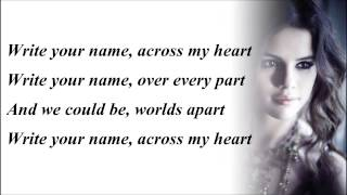 Selena Gomez - Write Your Name (with Lyrics)
