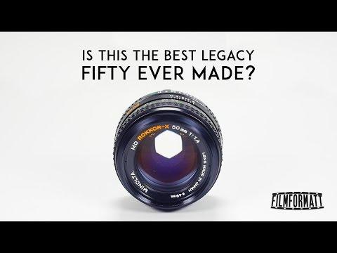 Minolta MD Rokkor X 50mm F1.4 Review
