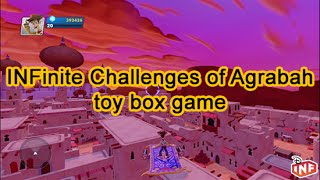 Aladdin And Jasmine Star In The Infinite Challenges Of Agrabah Toy Box Game Disney Infinity 2.0