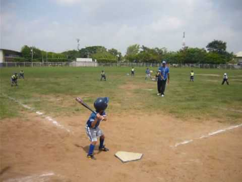 Juego de béisbol La Concepcion vs INAM (Categoria Semillita) - Tee Ball Baseball Game
