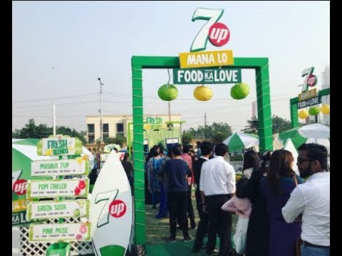 7Up Welcomes Spring With GymKhana Eat Fest in Lahore 2018