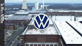 Volkswagen plant Wolfsburg – aerial view