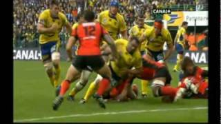 Rugby TOP14  Semi Final 2010 -2- Clermont vs Toulon  : Highlights of the  2sd HT