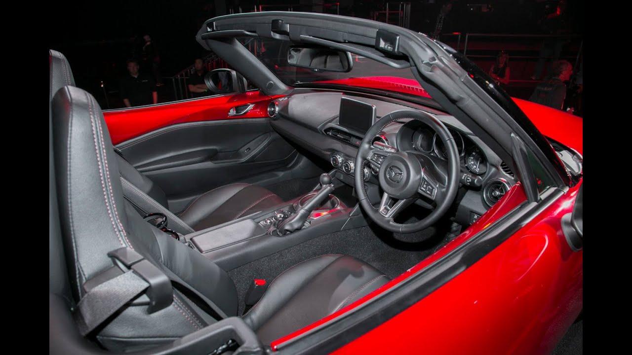 New 2016 Mazda Mx5 Miata Interior Photos