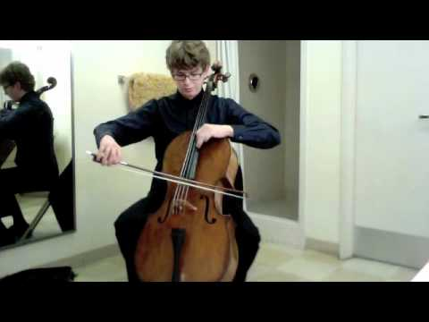 POPPER PROJECT #31: Joshua Roman plays Etude no. 31 by David Popper
