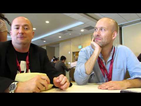 INTERVIEW: SDCC 2014 - Agent Carter writers Christopher Markus & Stephen McFeely