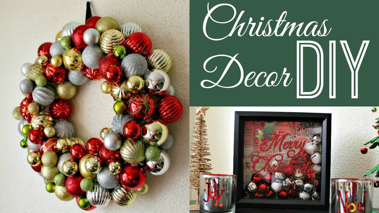 DIY Christmas Decorations - Collab DazzleDust08 - YouTube