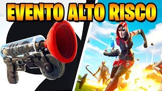 Fortnite-NEW ITEM, HIGH RISK EVENT and CHANGE IN WEAPONS | Patch 5.40