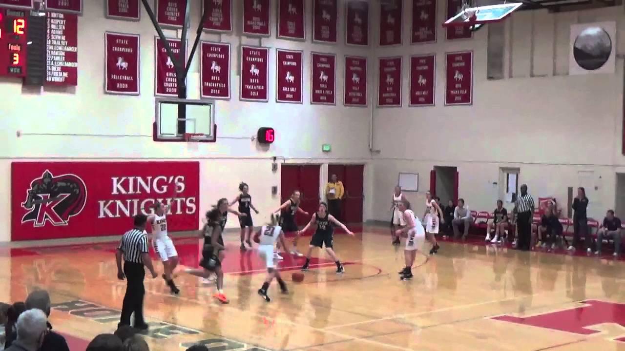 3A #1 Bellevue (MaxPreps #17 Nation) v 1A #2 King's (WA) High School Girls  Basketball