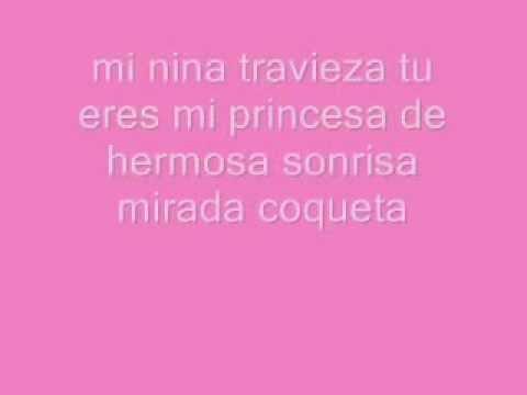 Mi Nina Traviesa (letra Rey Sanchez)