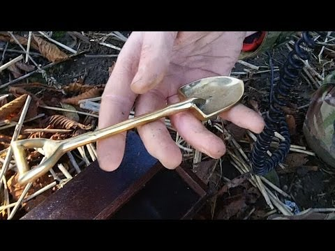Metal Detecting On The Google+ Field With Friends (187)