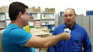 Dr  Francisco, Secretário de Saúde de Alto Santo, fala acerca da higienização de prédios públicos e