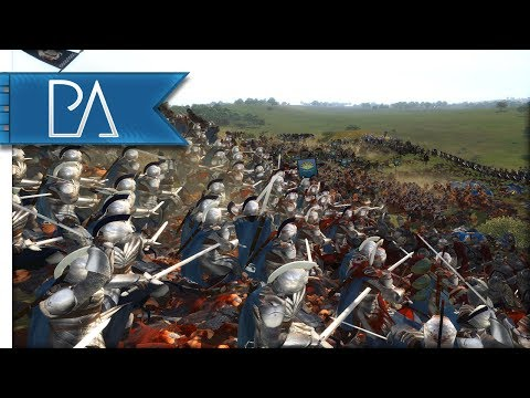 EPIC DEFENSE OF BELFALAS - Third Age Total War Reforged Mod Gameplay