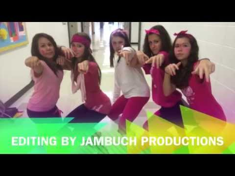 Pinkout 2014 at Holmes Jr High