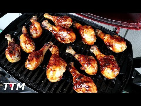 How To Make Easy Grilled Chicken Legs~Easy Cooking