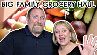 Big Family Grocery Haul!  |  Shopping for a Large Family!
