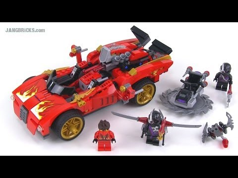Lego ninjago 70727 x 1 ninja charger review summer 2014 - Voiture ninjago ...