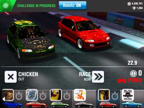 Racing Rivals Free Car Glitch
