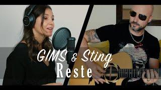Maître GIMS & Sting - Reste [Cover]