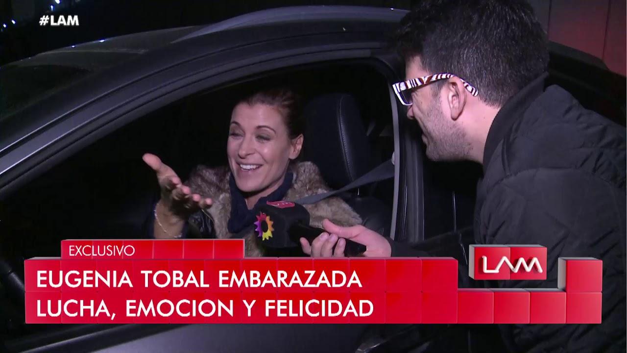 Eugenia Tobal mostró su pancita de embarazada