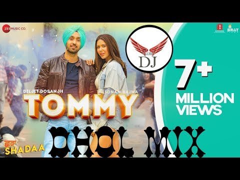 tommy-diya-jeana-ni-dhol-mix-|-ni-lak-tere-patle-vaaste-remix-diljit-dosanjh-|-guri-dj-official