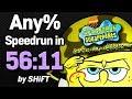 SpongeBob SquarePants: Battle for Bikini Bottom Any% Speedrun in 56:11 (WR on 7/14/2018)
