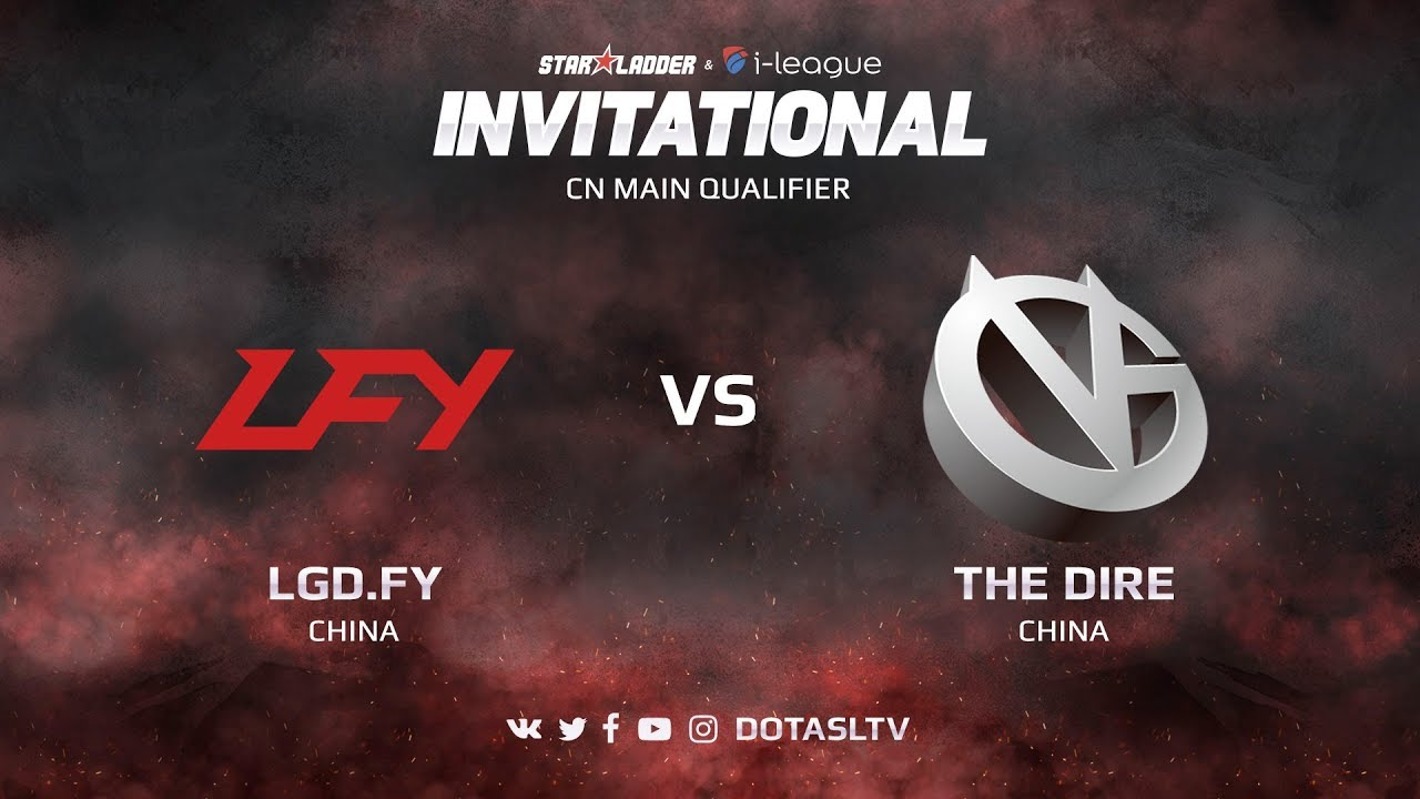 LGD.FY против Vici Gaming, Первая карта, CN квалификация SL i-League Invitational S3
